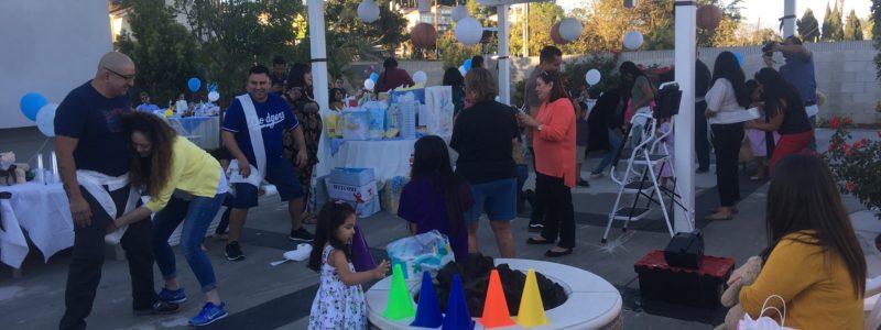Baby shower @ Hacienda Heights, CA